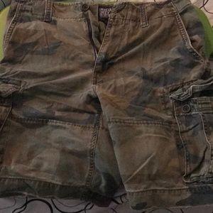 American Eagle Cargo Shorts Used